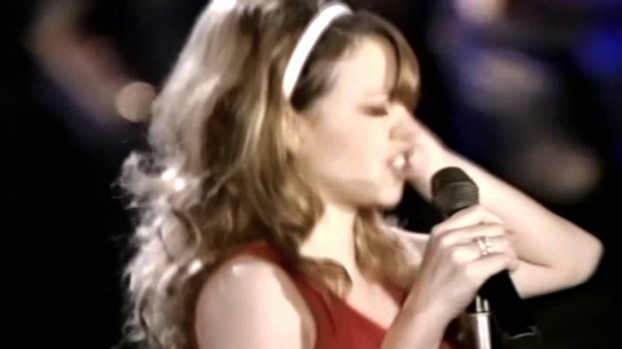 Mariah Carey-All I Want For Christmas Is You(Live Classic 1996 HD ...