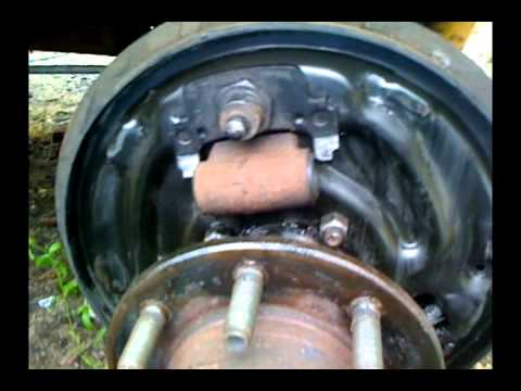 1994 Dodge Ram 2500 Brake Wheel Cylinder Upgrade - YouTube