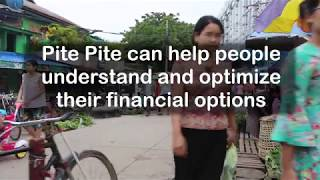 Pite Pite - Financial Chatbot for Myanmar