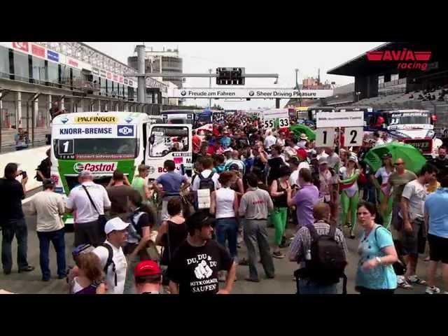 AVIA racing mit Ellen Lohr beim ADAC Truck Grand Prix am Nürburgring