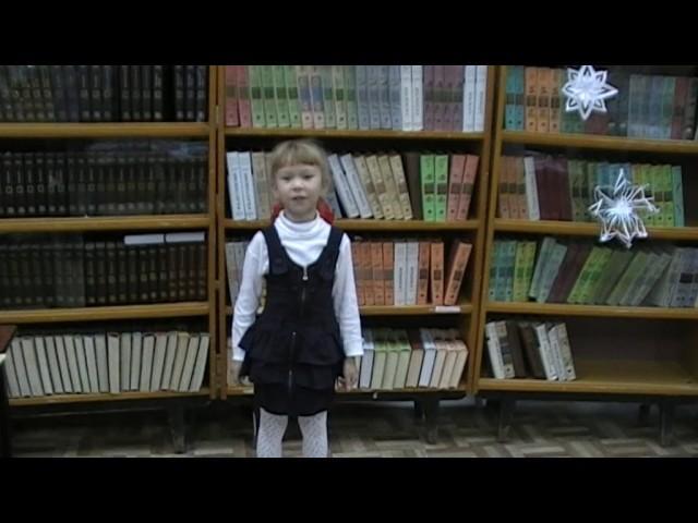 Изображение предпросмотра прочтения – АняРыкова читает произведение «Мама, глянь-ка из окошка» А.А.Фета