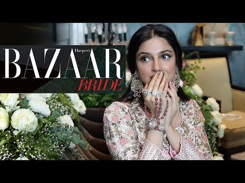 Thumbnail: Divya Khosla Kumar's Cover Shoot | Behind The Scenes | Harper's Bazaar Bride - August issue