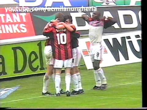 Serie A 1998/1999 | Udinese vs AC Milan 1-5 | 1999.04.18