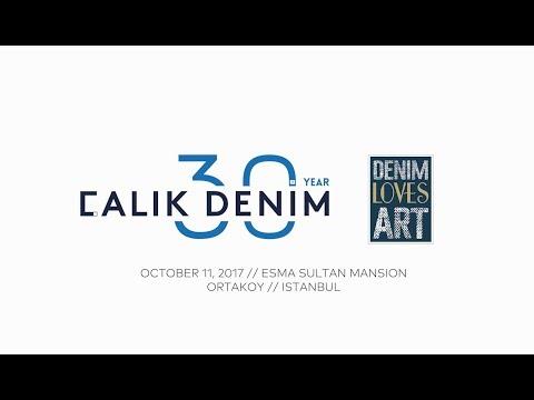 Calik Denim 30th Anniversary // Denim Loves Art Exhibition In Istanbul
