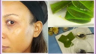 How To Use Aloe Vera To Look 5 Years Younger | Use Aloe Vera For Bright Glowing Skin | Khichi Beauty