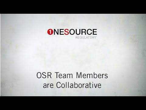 OSR TEAM MEMBERS ARE COLLABORATIVE PARTNERS
