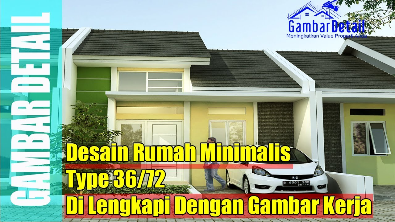 Desain Rumah Minimalis Type 36 72 YouTube