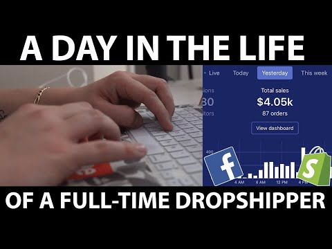 A Day In The Life Of A $50k/Month Dropshipper