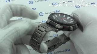 видео наручные часы касио