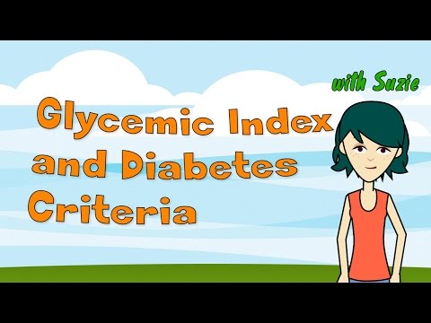 Glycemic Index and Diabetes Criteria