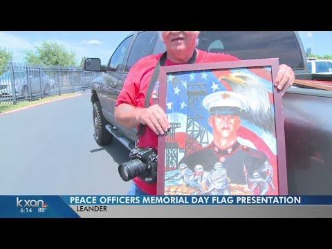 From Iraq to Leander, Texas: A flag to honor fallen peace officers