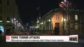 International manhunt underway after Paris terror attacks   IS 테러범들 파리 6곳 동시공격에