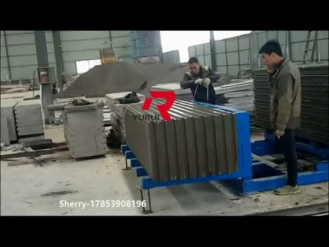full automation seperation and stacking machine for wall panel shandong Yurui Sherry