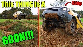 Can We Destroy A Nissan Xterra?! Big Jump Test!!!