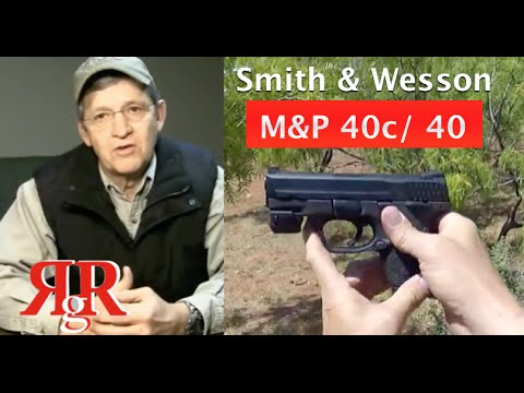 "Smith & Wesson M&P 40 / 40c Review - ""How I Conceal Carry"""