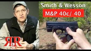 """Smith & Wesson M&P 40 / 40c Review - """"How I Conceal Carry"""""""