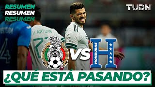 Resumen   México vs Honduras   Amistoso Internacional   TUDN
