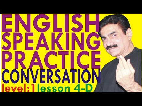 Learn To Speak English Through Hindi.English Grammar.English classes in Navi Mumbai.Lvl1 Lesson 4D