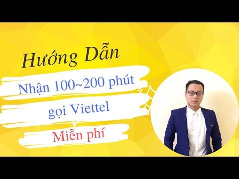 Hướng Dẫn Cách Nhận Phút Gọi Miễn Phí Bằng Sim Viettel - Nguyễn Thanh Tùng