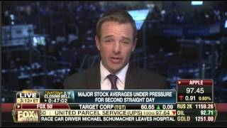 Trent Wagner talking with Fox Business