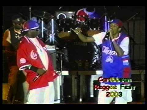 Tanto Metro and Devonte in Miami at the 2003 Caribbean Reggae Festival