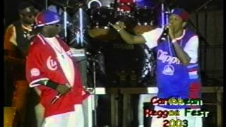 Tanto Metro and Devonte in Miami at the 2003 Caribbean Reggae Festival