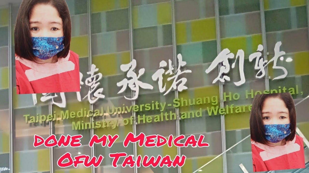 Done My Medical Ofw nang Taiwan/Evangeline Apostol