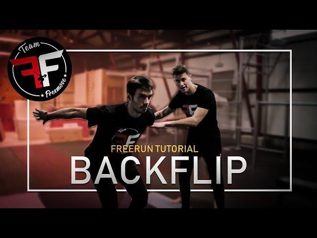 Jak se naučit BACKFLIP | Freemove