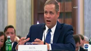 Bridenstine Responds to Climate Change Questions In Senate Hearing
