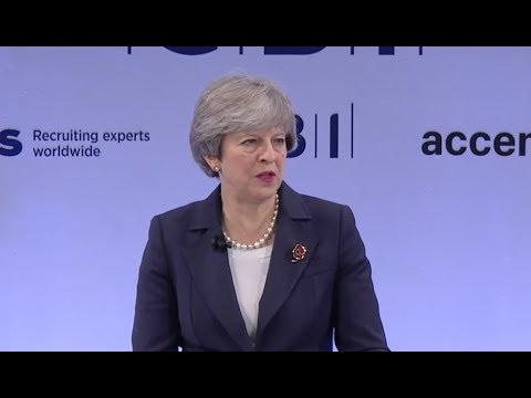 Theresa May delivers a speech at CBI conference + Q&A (06 Nov 2017)
