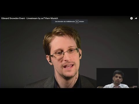 Edward Snowden on the History of the Surveillance State & Co