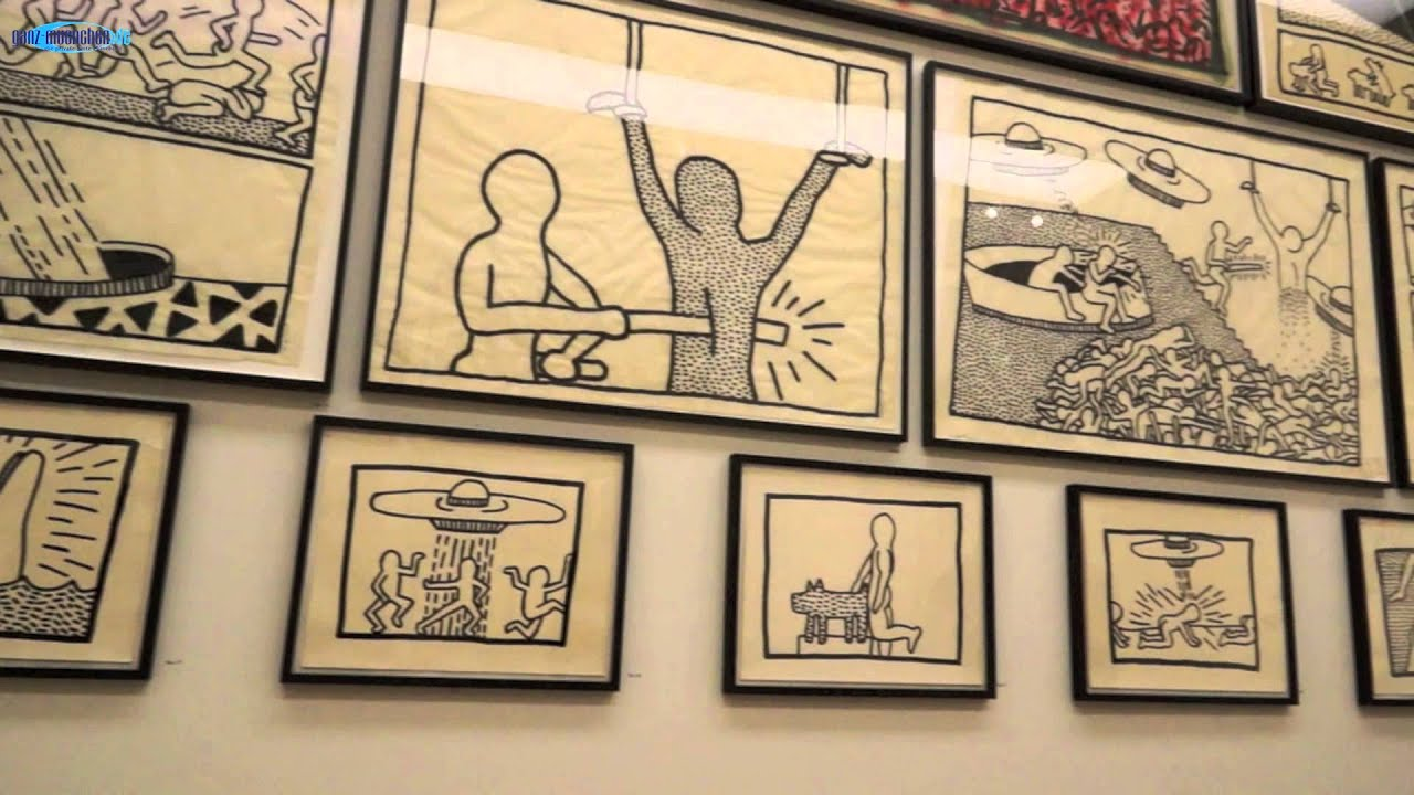 Ausstellung Keith Haring Gegen Den Strich At Hypo Kunsthalle Youtube
