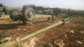 Русская наземная операция в Сирии