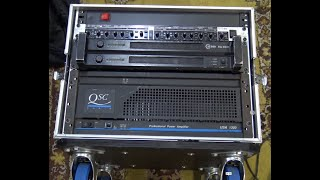 How to put togęther a professional Flight case audio rack