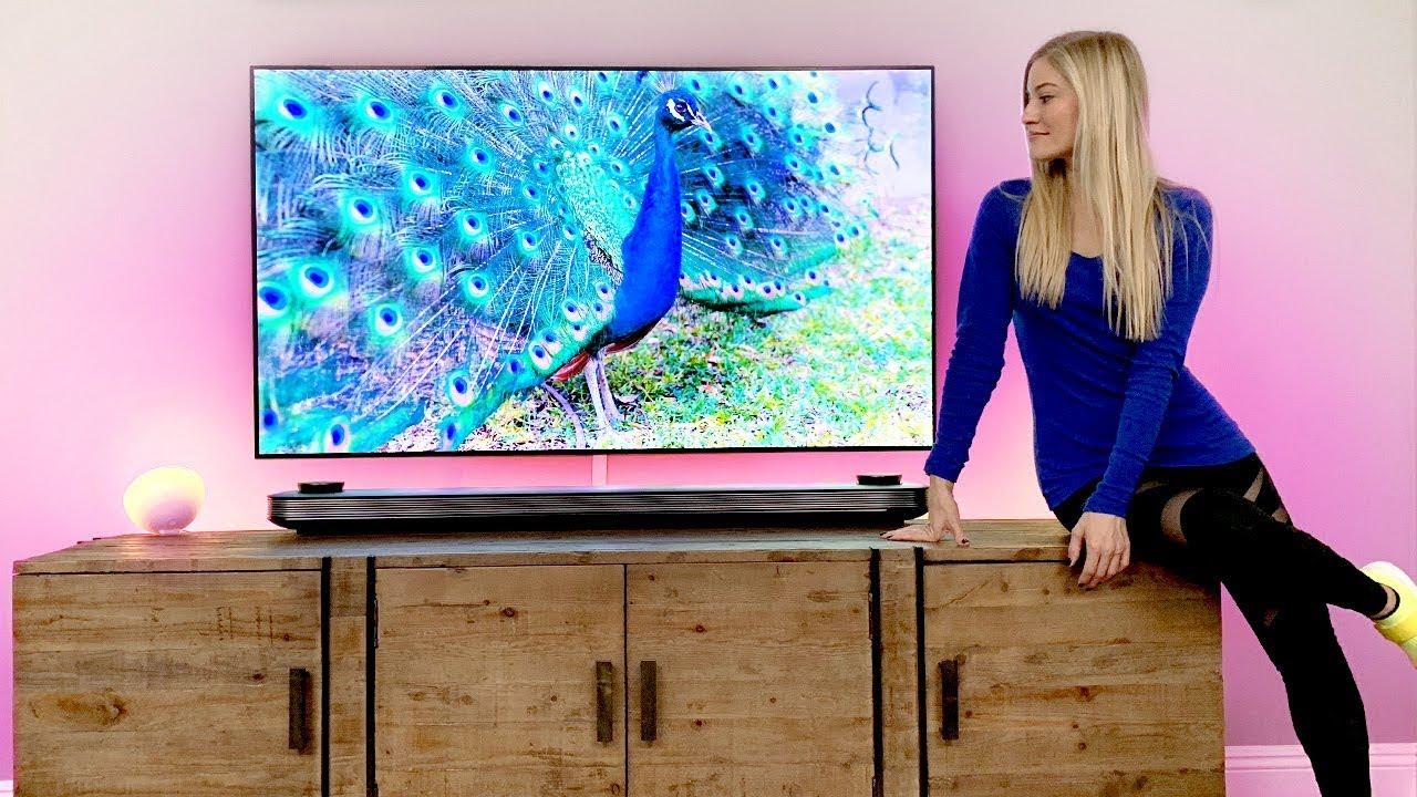 The thinnest TV ever! LG OLED AI TV