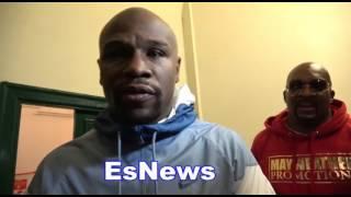 Floyd Mayweather on Diaz Brothers McGregor Fight Gervonta Davis And Money EsNews Boxing