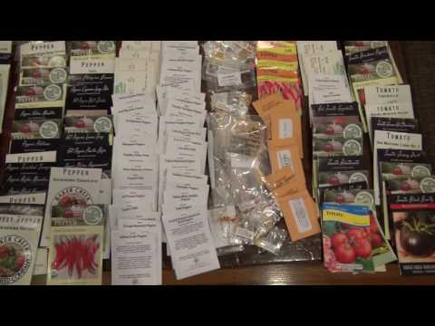 ⟹ SEEDS! MY SEED COLLECTION, pick your seed you want me to grow 2017 !! : ) #seeds