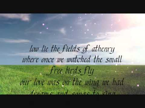 the dubliners the fields of athenry