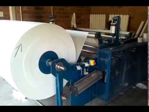 Toilet Paper Machine From South Africa - YouTube