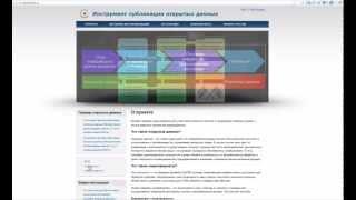 Видео-инструкция заполнения паспорта открытых данных