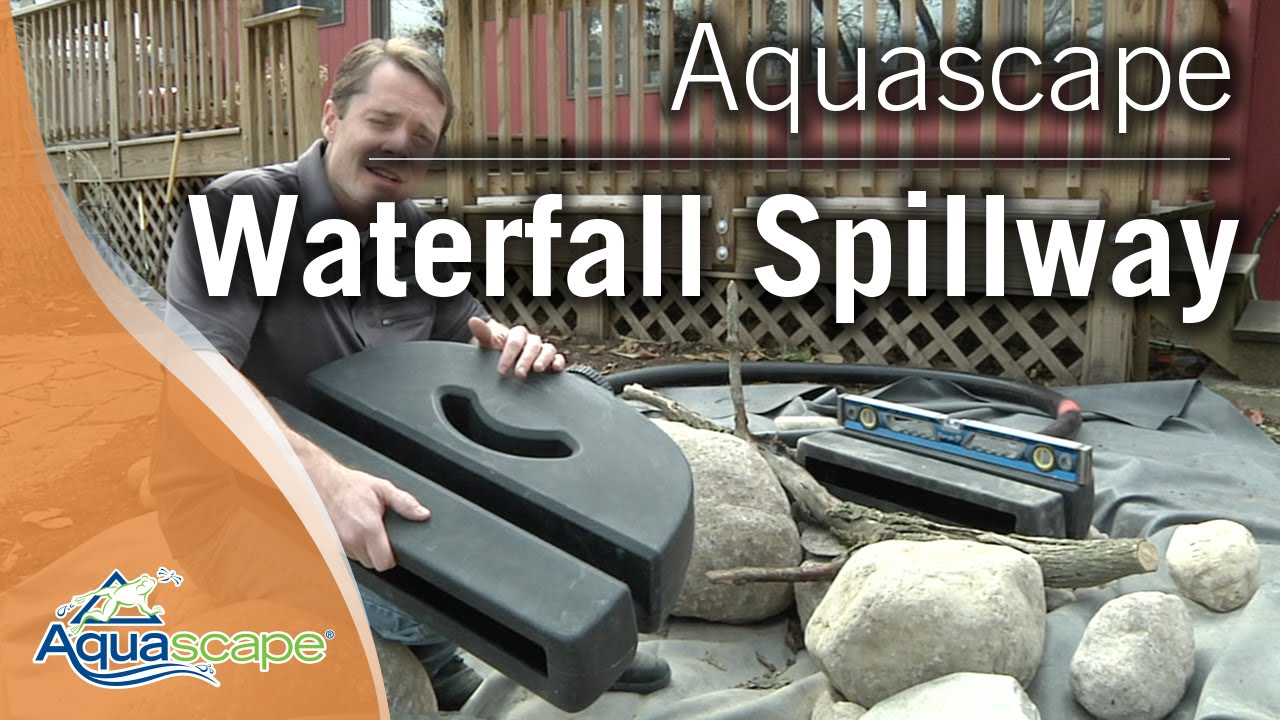 Aquascape's Waterfall Spillway - YouTube