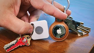Apple AirTag vs. Tile: Battle of the Bluetooth trackers