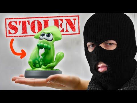 They STOLE $10,000 of Amiibo from Nintendo