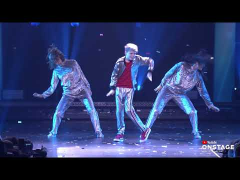 YouTube OnStage: Robot Dance by Kyle Hanagami ft. Matt Steffanina, Merrick Hanna and more!