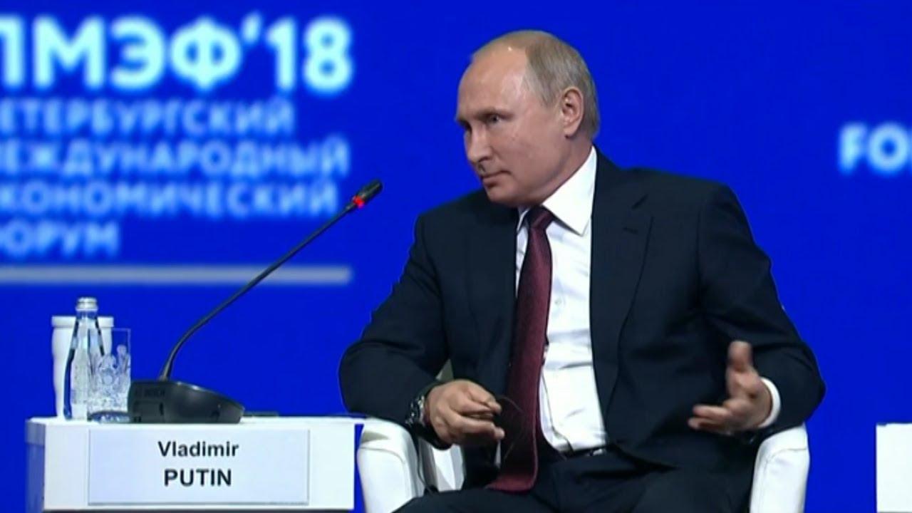 Путин о безопасности в Европе
