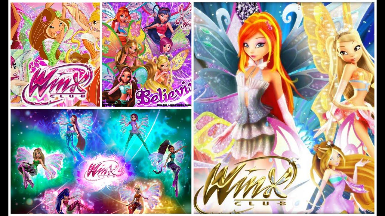 Winx Club Transformations Enchantix Believix Harmonix