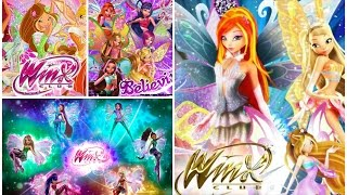 Winx Club Transformations: Enchantix, Believix, Harmonix and Sirenix