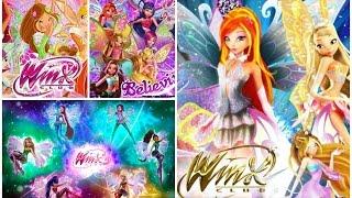 Winx Club Transformations: Enchantix, Believix, Harmonix and Sirenix