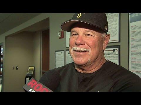 MIA@PIT: Searage discusses the Volquez no-hitter