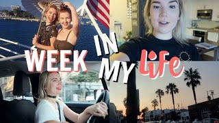 CAR VLOGS ARE BACK  + LA ADVENTURES! | A WEEK IN MY LIFE